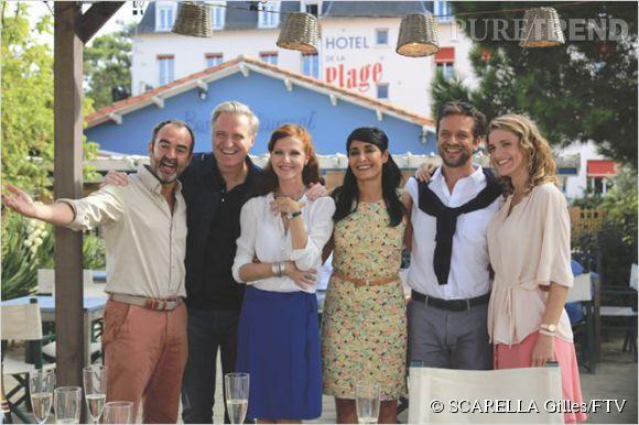 Bruno Solo incarnera le personnage de Paul, un père de famille qui passe ses vacances entre amis au bord de l'eau.