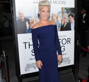 Pink avant d'être chanteuse et actrice travaillait chez McDonald's à l'instar de l'acteur James Franco.