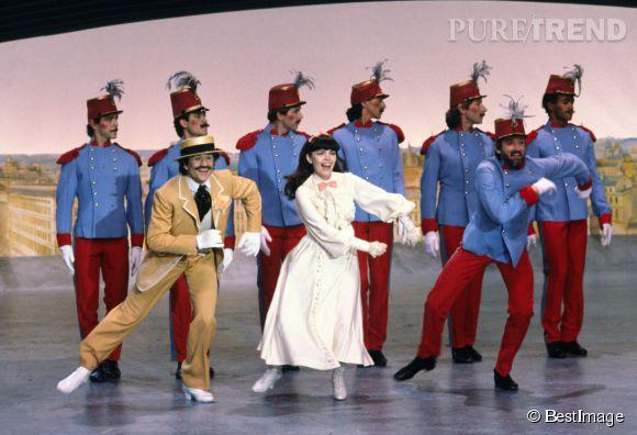Mireille Mathieu et 1983.