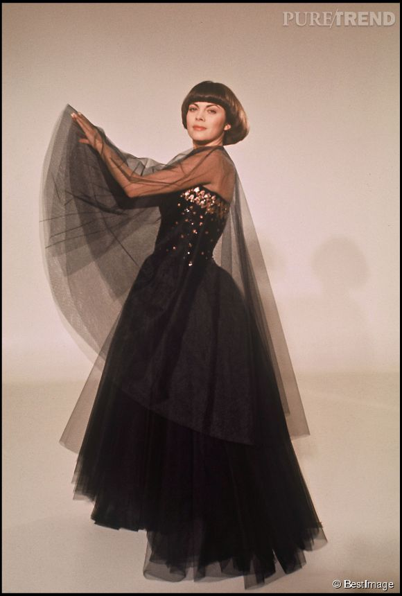 Mireille Mathieu en 1976.