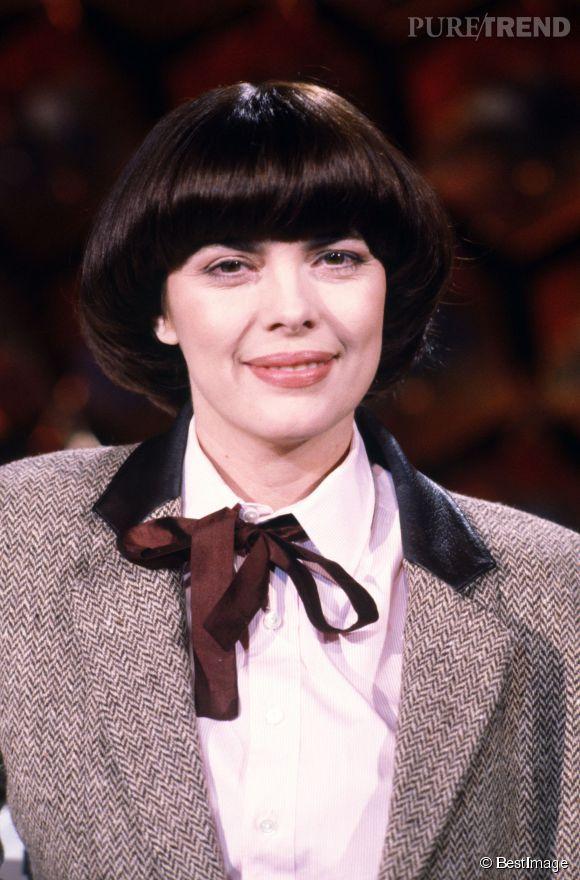 Mireille Mathieu en 1984.
