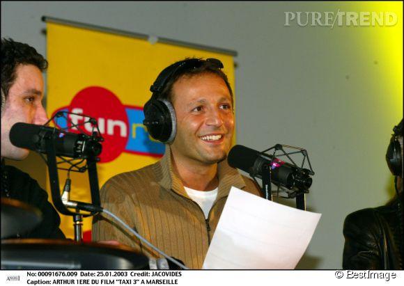 Arthur en janvier 2003.