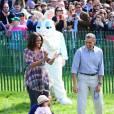 Quand il s'agit de faire plaisir aux enfants, Barack Obama est un vrai pro ! Ici, il avait invité un lapin à la Maison Blanche pour l'annuelle chasse aux oeufs de Pâques.