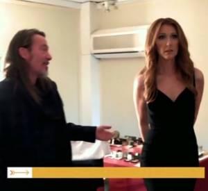 Oups, Céline Dion a montré ses fesses à Florent Pagny. Trop tard...