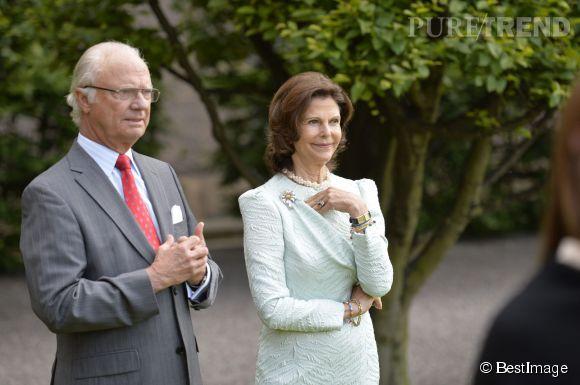 Le roi Carl Gustav et la reine Sofia sont RA-VIS !