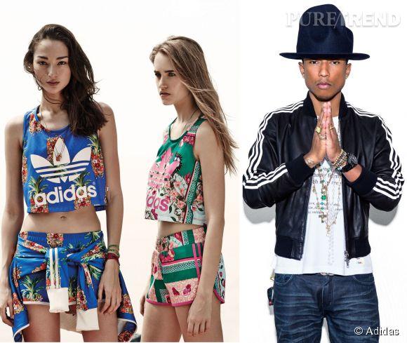 Adidas n'arrête plus les collaborations. Pour innover, la marque aux trois bandes ne recule devant rien. Entre ses égéries superstars et ses collections ultra girly, on oublierait presque que la griffe est à la base spécialisée dans l'univers du sport!