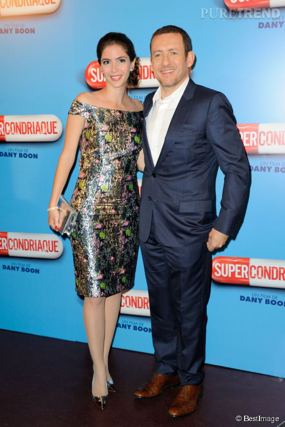 Dany Boon au côté de sa femme, Yaël qui le suit sur les tapis rouges.