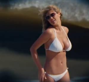 """La bombe Kate Upton dans le film """"Triple Alliance"""" avec Cameron Diaz et Leslie Mann. même avec un physique pareil, elle refuse de poser nue."""