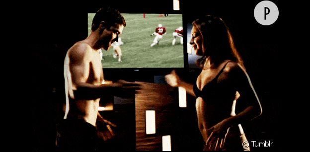 "Justin Timberlake et Mila Kunis dans ""Sex friends"""