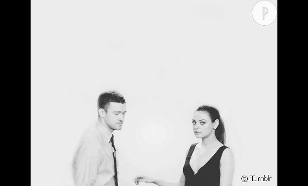 Mila Kunis et Justin Timberlake.