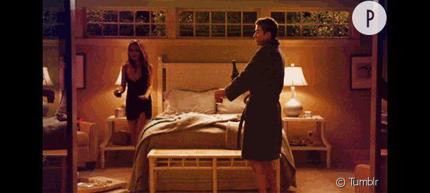 "Mila Kunis et Justin Timberlake dans ""Sex friends"""
