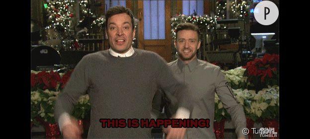 Justin Timberlake et Jimmy Fallon.