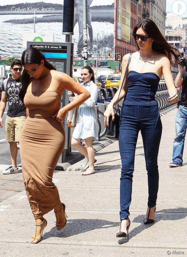 Kim Kardashian et Kendall Jenner.