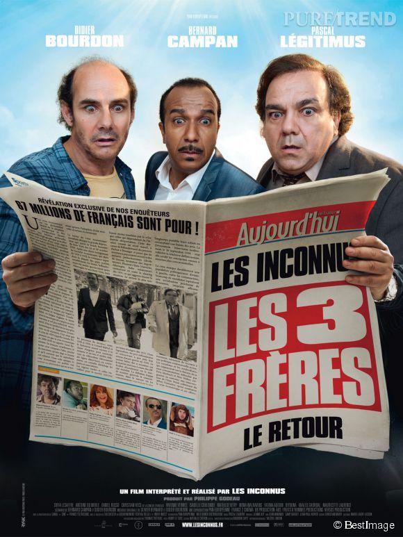 """Pascal Légitimus a annoncé la fin définitive de la saga des """"Trois frères"""" sur Facebook, mardi 19 août 2014."""