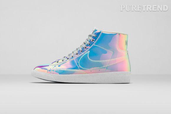 Nike Blazer Mid Iridescent, la basket la plus cool de septembre ?