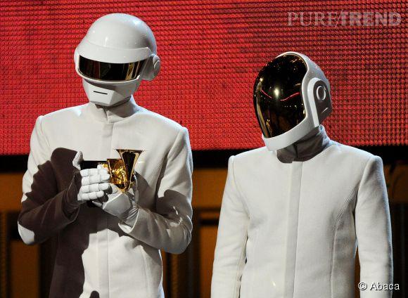 Daft Punk est reparti avec cinq récompenses lors des Grammy Awards 2014.