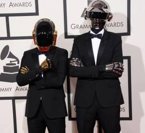 Le duo des Daft Punk aux Grammy Awards en janvier 2014.