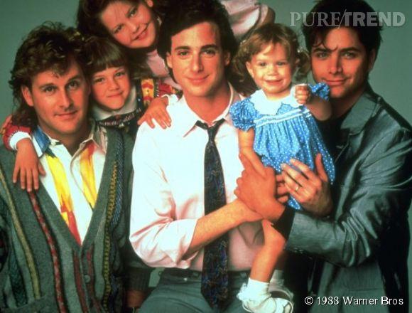 """L'équipe originale de """"La fête à la maison"""" en 1988."""
