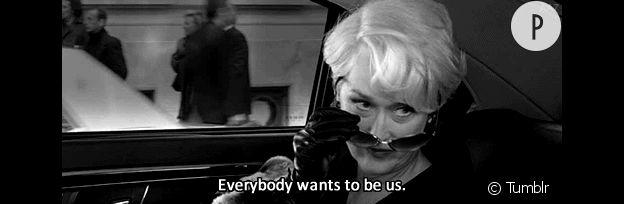 "Meryl Streep ""Le diable s'habille en Prada"""
