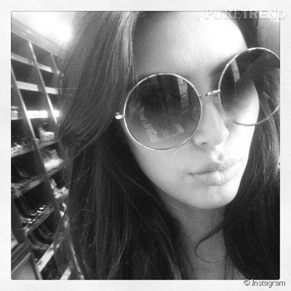 Kim Kardashian, la reine du selfie.