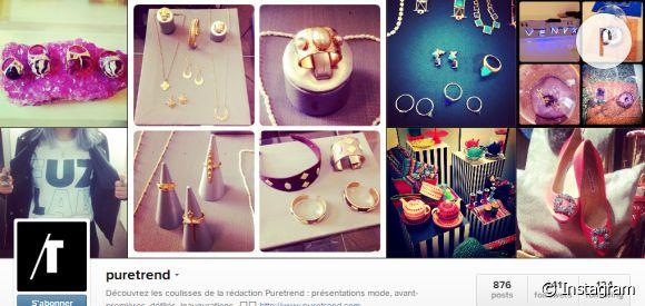 Les dix meilleurs comptes Instagram à suivre ! (En dehors de Puretrend évidemment...)
