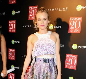 Diane Kruger : allure sexy futuriste aux 20 ans d'Instyle