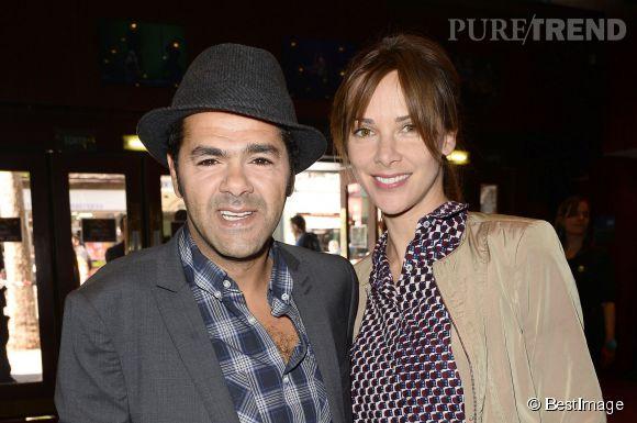 Jamel Debbouze et Mélissa Theuriau, un couple star.