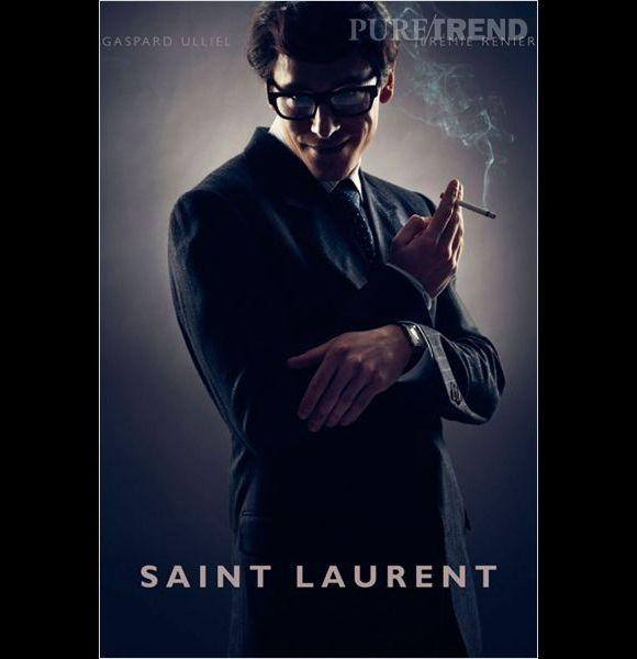 """""""Saint Laurent"""" avec Gaspard Ulliel, au cinéma le 24 septembre 2014."""