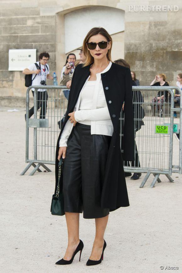Clotilde Courau, la princesse la plus stylée de la Fashion Week chez Elie Saab.