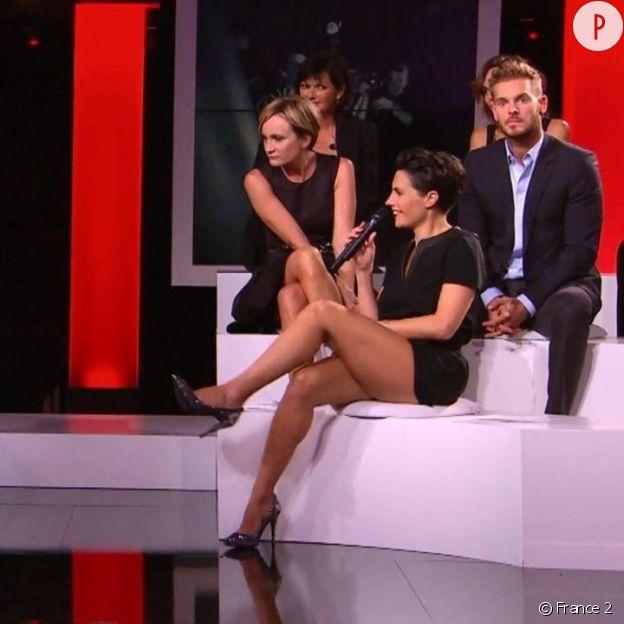 """Alessandra Sublet dans """"Hier encore"""" en 2012."""