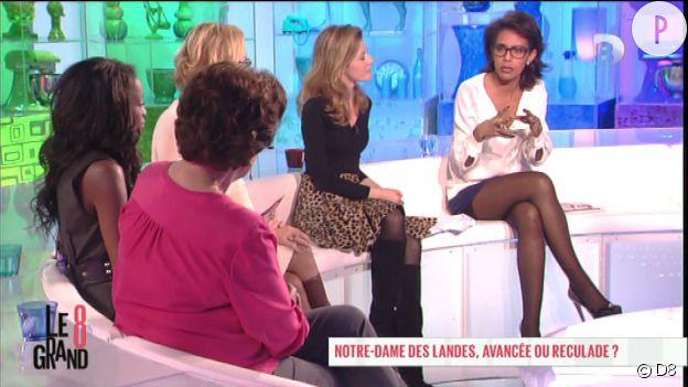 """Audrey Pulvar dans """"Le Grand 8""""."""