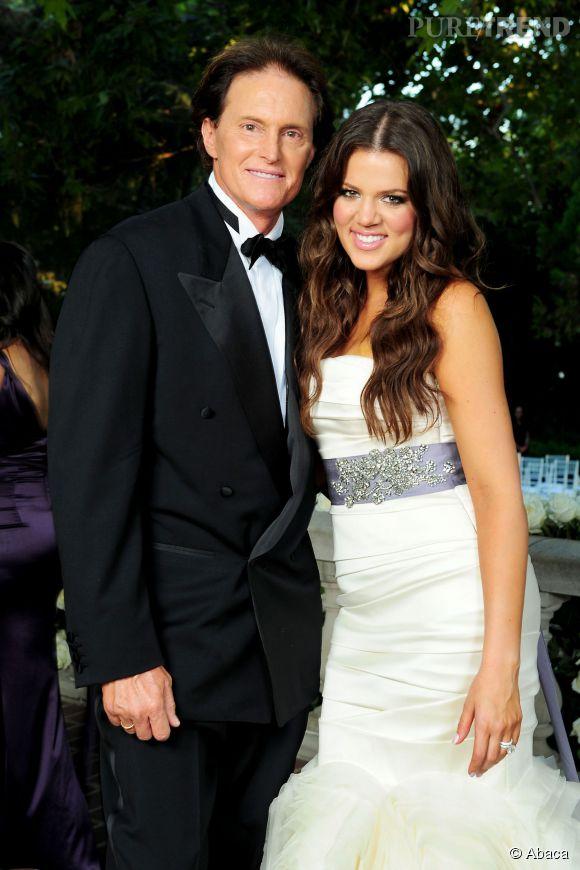 Bruce Jenner et Khloé Kardashian en 2009.