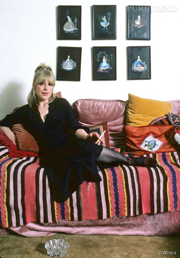 Marianne Faithfull dans les années 80.