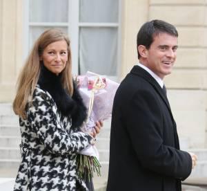 Manuel Valls et sa femme Anne Gravoin : un couple glamour à l'Elysée