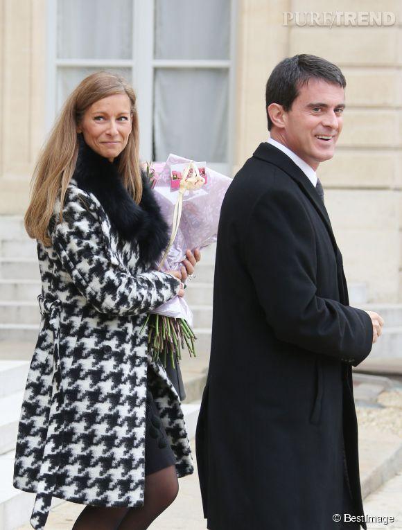 Anne Gravoin et Manuel Valls forment l'un des plus jolis couples de notre gouvernement.