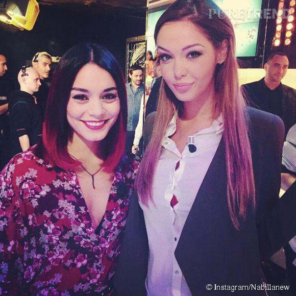 Nabilla fangirl avec Vanessa Hudgens.