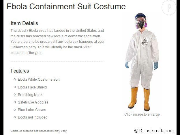 La combinaison anti-Ebola.