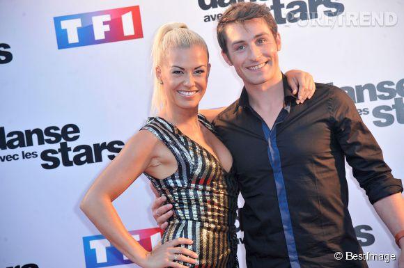 "Dans ""Danse avec les stars"", Brian Joubert performe d'habitude avec Katrina Patchett."