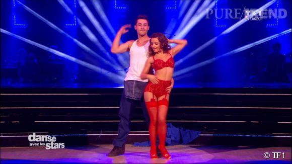 """Brian Joubert et sa partenaire d'un soir, Denitsa Ikonomova, ont offert une danse sooo caliente dans"""" DALS5"""" ce samedi !"""