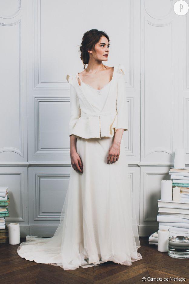 Robe pour mariage civil hiver for Robes de mariage pour l hiver 2017