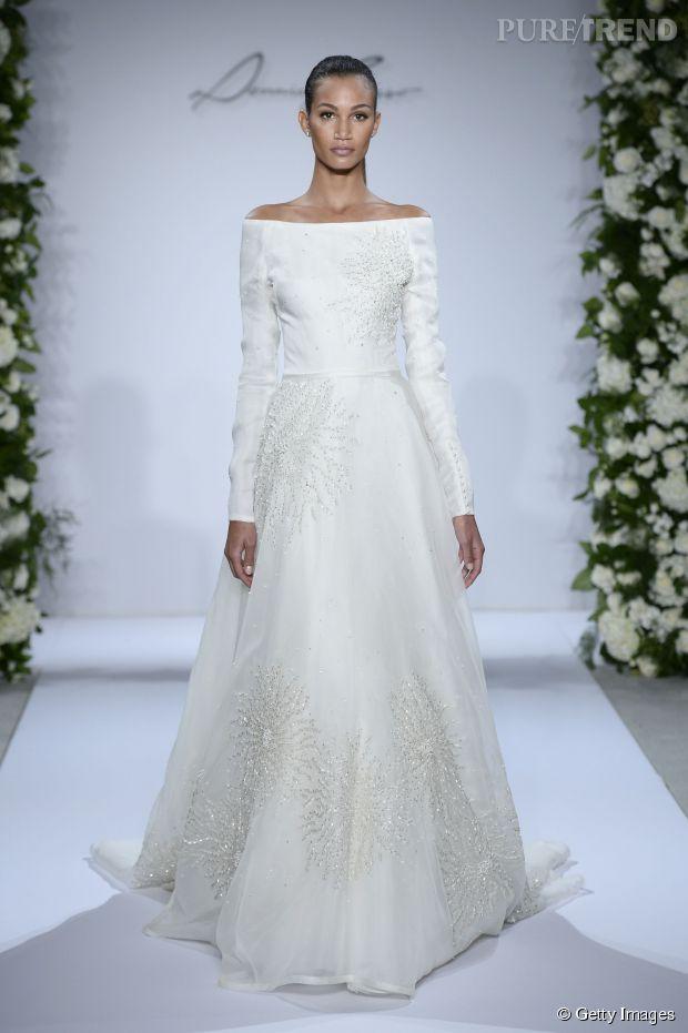 mariage en hiver 10 robes de mari es tendances pour dire oui. Black Bedroom Furniture Sets. Home Design Ideas