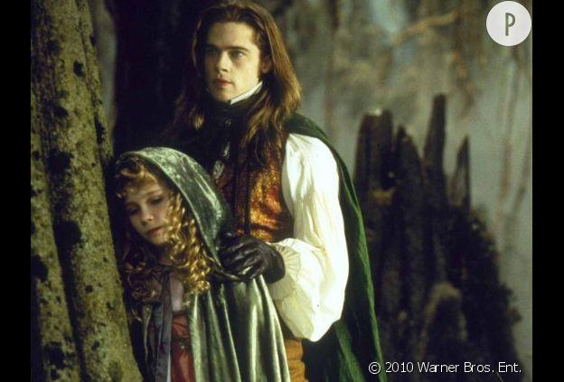 "Brad Pitt dans ""Entretien avec un vampire""."