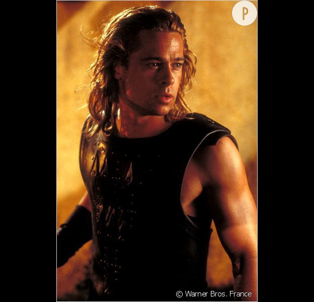 "Brad Pitt dans ""Troie""."