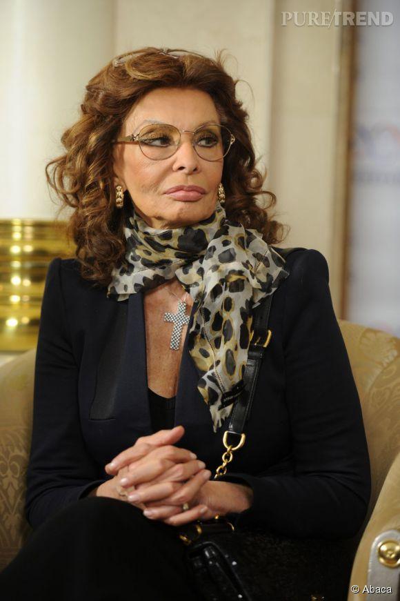 Sophia Loren n'a pas oublié son incarcération dans la prison de Caserta, en Italie.