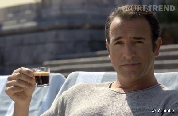 """Jean Dujardin dans la dernière publicité Nespresso, """"What else ?"""""""