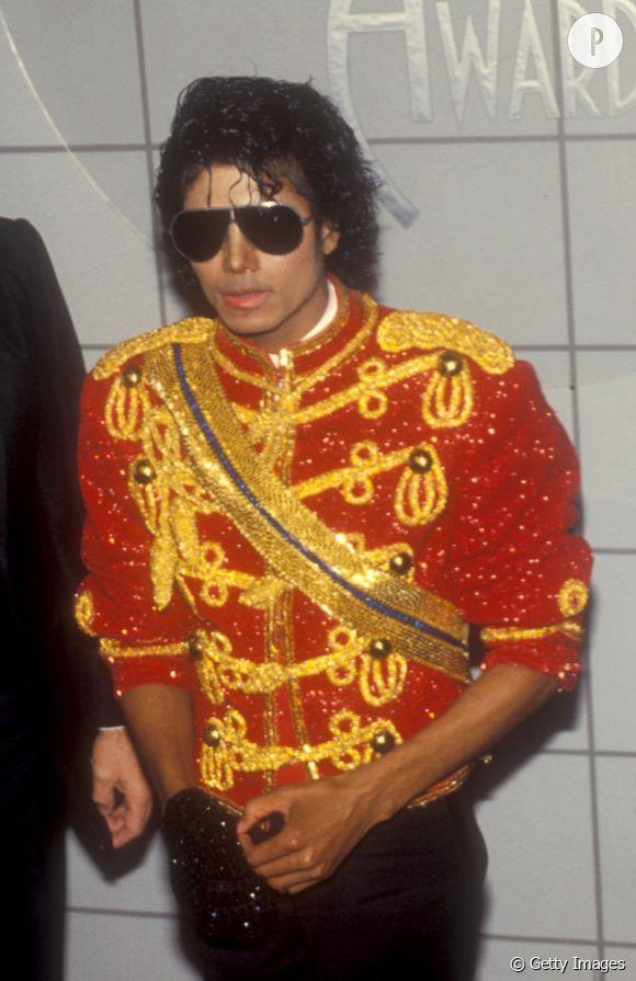 Michael Jackson lors des American Music Awards de 1984.