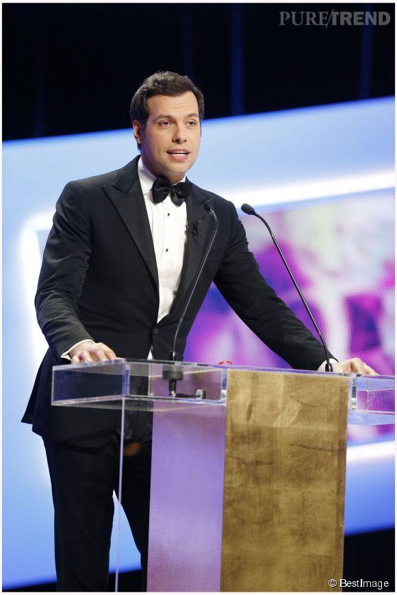 Laurent Lafitte, nouveau maître de cérémonie des César ? L'acteur aurait annoncé la nouvelle hier lors de la soirée anniversaire de Canal+.