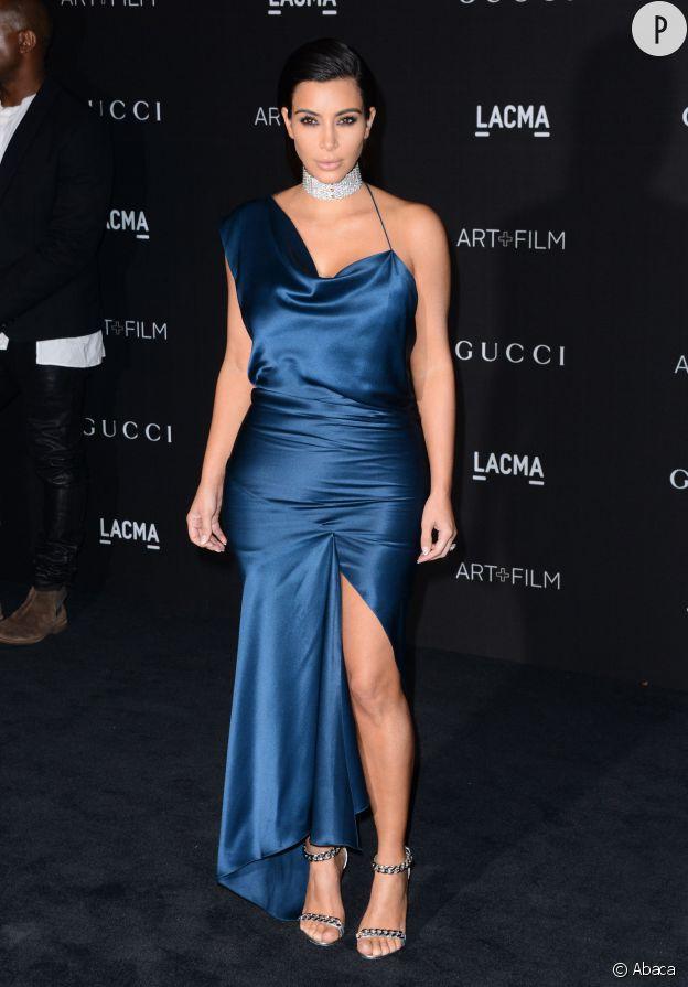 Kim Kardashian, une bombe à la soirée des LACMA ART + Film Gala.