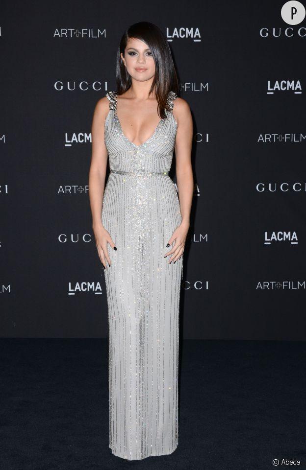 Selena Gomez à la soirée des LACMA ART + Film Gala.