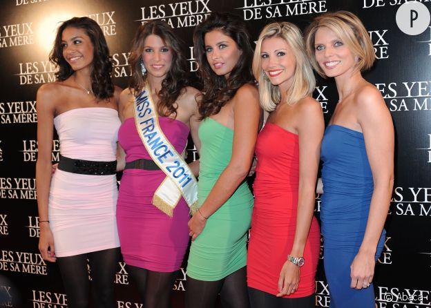 Les anciennes Miss France ne ratent pas une occasion de se retrouver sur le tapis rouge.